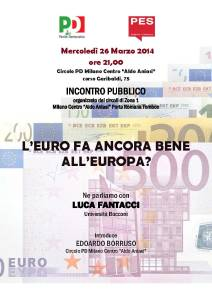 locandina euro 26 marzo 2014