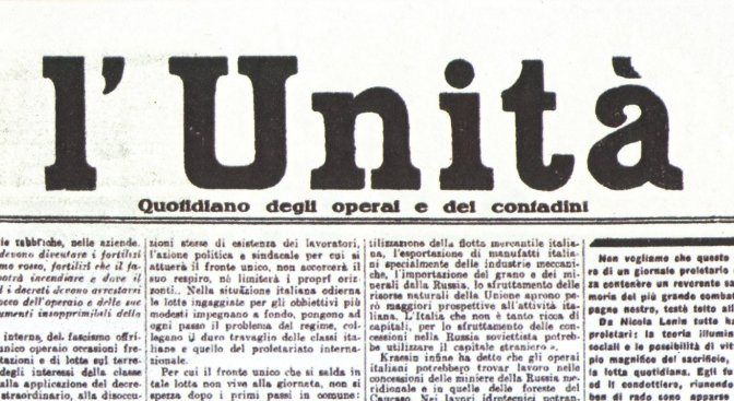 L'Unità è viva