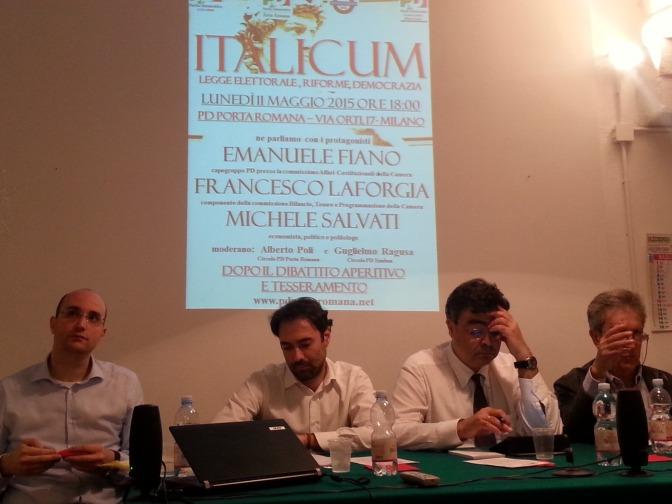 ITALICUM: LA GRANDE POLITICA A PORTA ROMANA – LE FOTO