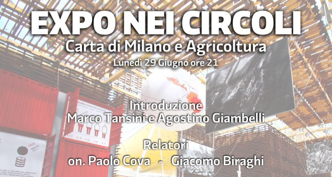 Expo nei Circoli – Carta di Milano e Agricoltura