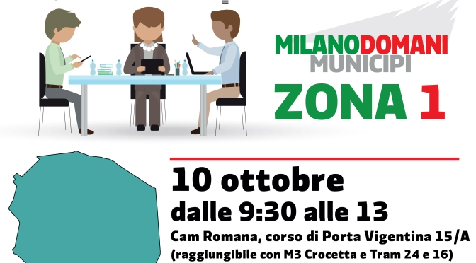 Milano Domani Municipi: per discutere del futuro della Zona 1 – Dalle Zone ai Municipi
