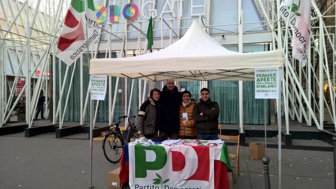 Mobilitazione Partito Democratico Primarie 2016: weekend 9/10 gennaio