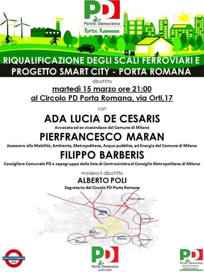 Riqualificazione degli Scali Ferroviari e Progetto Smart City – Porta Romana e gli altri appuntamenti di marzo