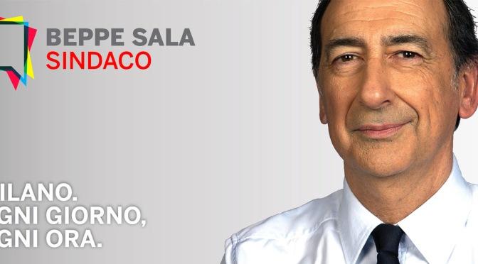VOTA E FAI VOTARE BEPPE SALA SINDACO DI MILANO