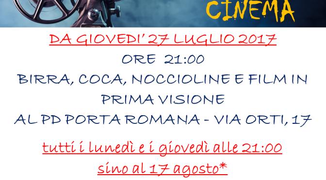 E…STATE AL CIRCOLO. CON IL CINEMA!