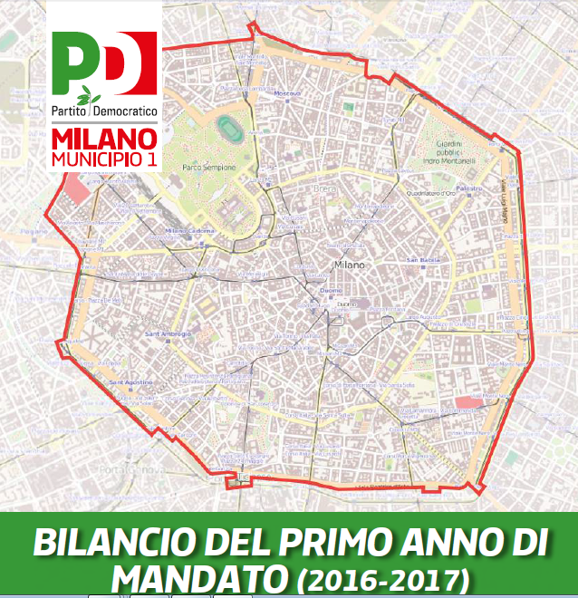 GRUPPO PD IN MUNICIPIO 1: BILANCIO DEL PRIMO ANNO DI MANDATO